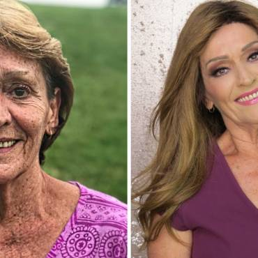 Hollywood makeover for 70-year-old grandmother